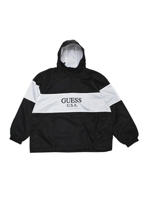 GUESS GREEN LABEL(ゲス グリーンレーベル)/ 2 TONE ANORAK -BLACK-