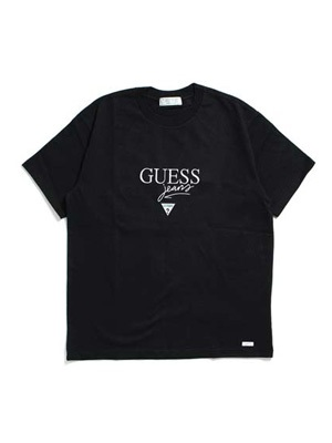 GUESS GREEN LABEL(ゲス グリーンレーベル)/ GUESS JEANS TEE -BLACK-