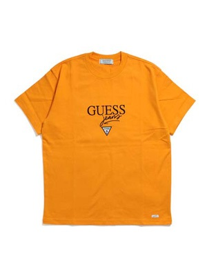 GUESS GREEN LABEL(ゲス グリーンレーベル)/ GUESS JEANS TEE -ORANGE-