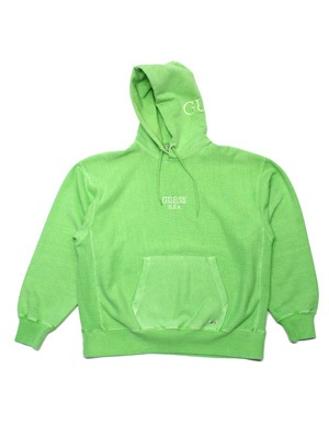 GUESS GREEN LABEL(ゲス グリーンレーベル)/ USA LIME HOODIE -GREEN-