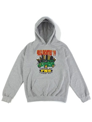 40s&Shorties(フォーティスアンドショーティース)/ SHOW OUT HOODIE -GREY-