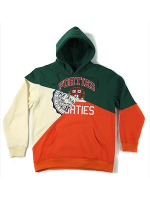 40s&Shorties(フォーティスアンドショーティース)/ SPLIT PERSONALITY HOODIE -2COLOR-