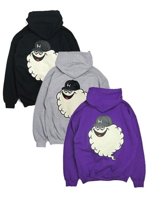 HAIGHT(ヘイト)/ BIG CLOUD ON HOODIE -3.COLOR-