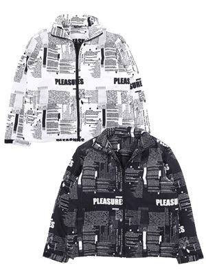 PLEASURES(プレジャーズ)/ POEMS PUFF JACKET -2.COLOR-