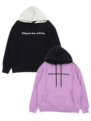 PLEASURES(プレジャーズ)/ HARD DRIVE CREWNECK WITH HOOD -2.COLOR-