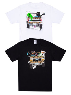 RIPNDIP(リッピンディップ)/ THE WHOLE GANG TEE -2.COLOR-