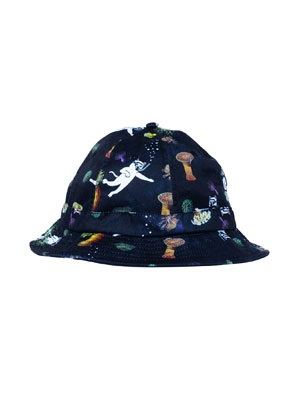 RIPNDIP(リッピンディップ)/ SCUBA NERM BUCKET HAT -BLACK-