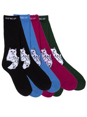 RIPNDIP(リッピンディップ)/ RIPNDIP/ LORD NERMAL SOCKS -4.COLOR-
