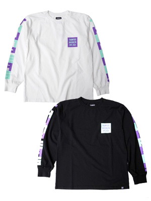 THUMPERS(サンパーズ)/ BLOCK LS TEE -2.COLOR-