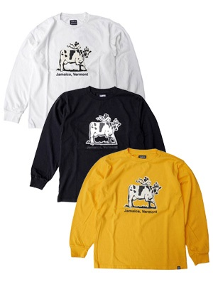 THUMPERS(サンパーズ)/ JAMAICA COW LS TEE -3.COLOR-
