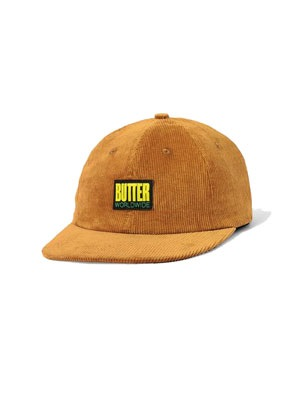 Butter Goods(バターグッズ)/ THOMAS CORDUROY 6 PANEL CAP -2.COLOR-