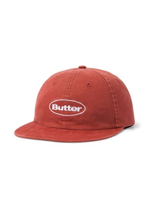 Butter Goods(バターグッズ)/ WASHED BADGE 6PANEL CAP -3.COLOR-