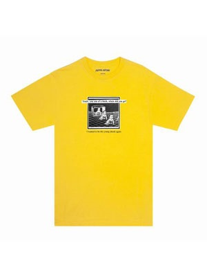 FUCKING AWESOME(ファッキンオーサム)/ Young Drunk Tee -YELLOW-