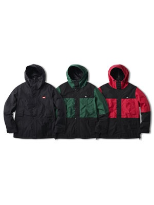 FTC(エフティーシー)/ WATERPROOF 3L MOUNTAIN JACKET -3.COLOR-