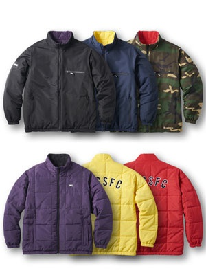 FTC(エフティーシー)/ REVERSIBLE PUFFY JACKET -3.COLOR-