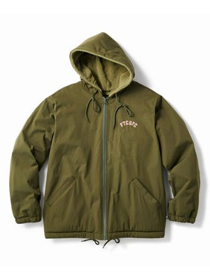 FTC(エフティーシー)/ HOODED SHERPA LINED ZIP JACKET -3.COLOR-