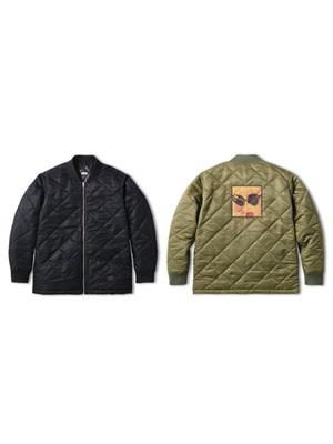 FTC(エフティーシー)/ QUITED WORK JACKET -2.COLOR-