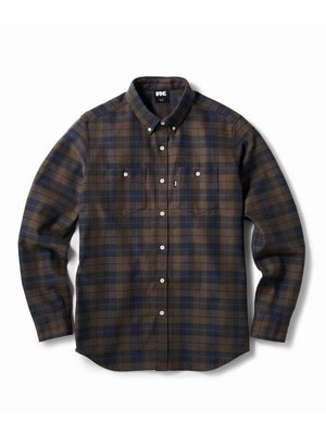 FTC(エフティーシー)/ HEAVY PLAID NEL B.D SHIRT -2.COLOR-