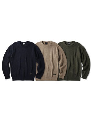FTC(エフティーシー)/ NEP WOOL SWEATER -3.COLOR-