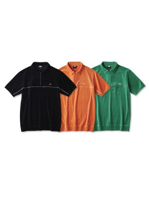 FTC(エフティーシー)/ PIPING VELOUR POLO -3.COLOR-