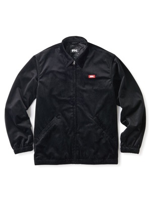 FTC(エフティーシー)/ VELOUR HARRINGTON JACKET -BLACK-