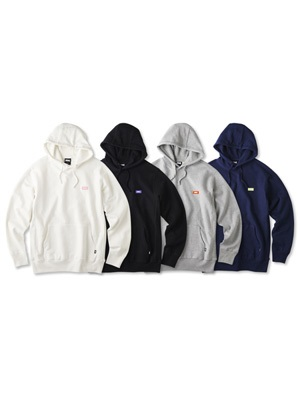 FTC(エフティーシー)/ SMALL LOGO PULLOVER HOODY -4.COLOR-