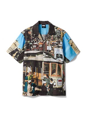 FTC(エフティーシー)/ CABLE CAR RAYON SHIRT -MULTI-