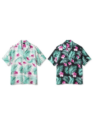 FTC(エフティーシー)/ FLORAL RAYON SHIRT -2.COLOR-
