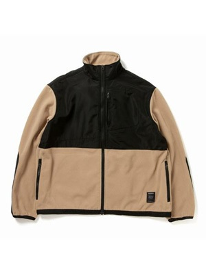 430(フォーサーティー)/ FLEECE FULL ZIP JACKET -BEIGE-