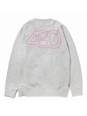 430(フォーサーティー)/ NUMBER ICON EP CN SWEAT -2.COLOR-