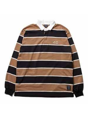 430(フォーサーティー)/ LS RUGBY SHIRTS -2.COLOR-