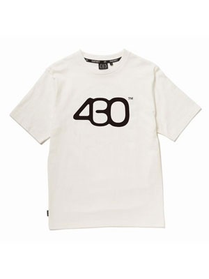 430(フォーサーティー)/ NUMBER ICON SS TEE -3.COLOR-