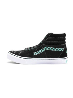 "430(フォーサーティー)/ 430 × VANS VF SK8-HI ""Around the world"" -BLACK×MINT-"