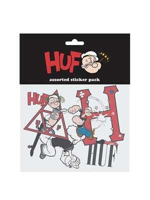 HUF(ハフ)/ POPEYE STICKER SET