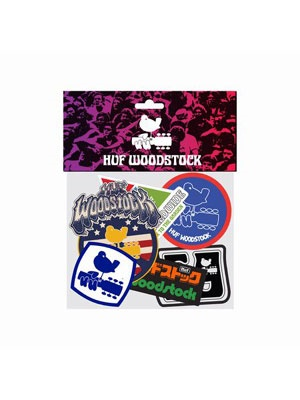 HUF(ハフ)/ WOODSTOCK STICKER PACK