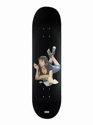 HUF(ハフ)/ PULP FICTION SKATEBOARD -8.25-
