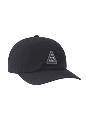 HUF(ハフ)/ AURORA CV 6PANEL HAT -BLACK-