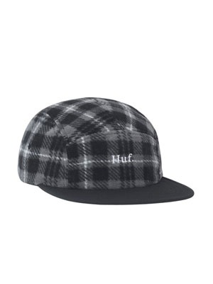 HUF(ハフ)/ BOROUGHS VOLLEY HAT -BLACK-