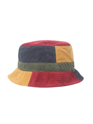 HUF(ハフ)/ MENDOZA BUCKET HAT -MULTI-