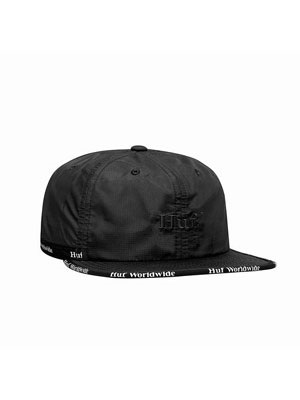 HUF(ハフ)/ MIDTOWN 6 PANEL HAT -BLACK-
