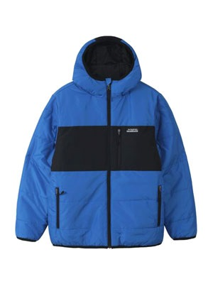 HUF(ハフ)/ TAOS REVERSIBLE PUFFER JACKET -BLUE-