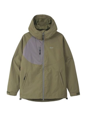 HUF(ハフ)/ STANDARD2 SHELL JACKET -3.COLOR-