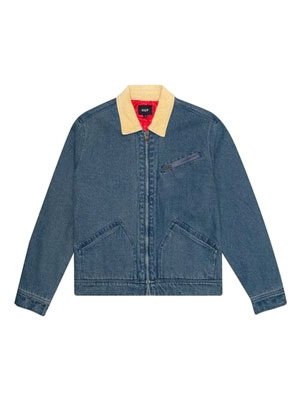 HUF(ハフ)/ BEUH DENIM JACKET -INDIGO-