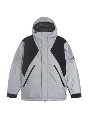 HUF(ハフ)/ NYSTROM PUFF JACKET -SILVER-