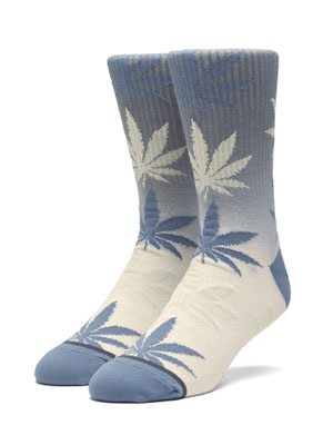 HUF(ハフ)/ GRADIENT DYE PLANTLIFE SOCK -BLUE-