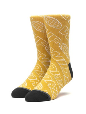 HUF(ハフ)/ MARATHON SOCK -2.COLOR-