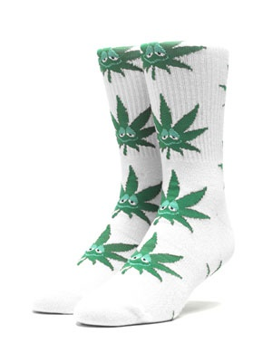 HUF(ハフ)/ GREEN BODDY SOCK -2.COLOR-
