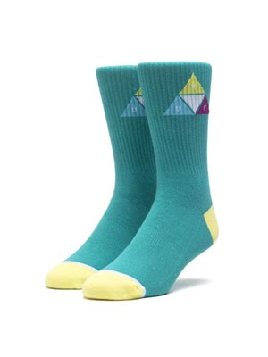 HUF(ハフ)/ PRISM TRIANGLE SOCK -2.COLOR-