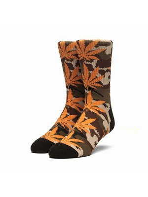 HUF(ハフ)/ PLANTLIFE CAMO SOCK -2.COLOR-