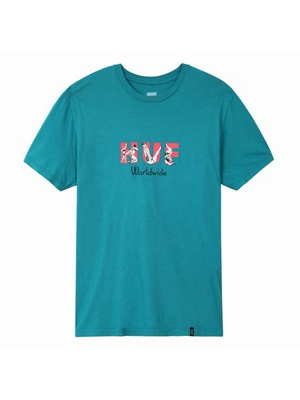HUF(ハフ)/ FREAKS SS TEE -2.COLOR-